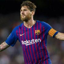 Messi recibe Pichichi 2017-2018  por mejor goleador en Liga de España