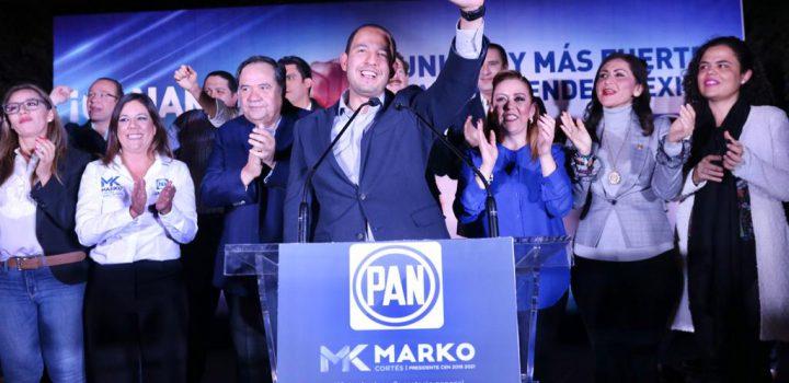 Ganó Cortés presidencia del PAN