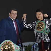 «Mexicanito» Kameda recibió cinturón