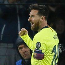 """Lionel Messi, elegido """"Jugador  de la semana"""" en Champions League"""