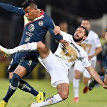 Pumas 1-1 Aguilas; ventaja americanista en semifinales de ida Apertura 2018