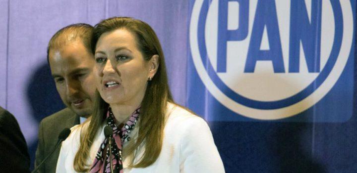 Erika Alonso pide a AMLO detener presiones