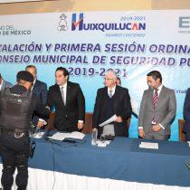 En Huixquilucan los resultados en seguridad continuarán: EV