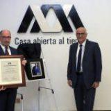 Recibe José Ramón Cossío Díaz el grado de doctor Honoris Causa Por La UAM
