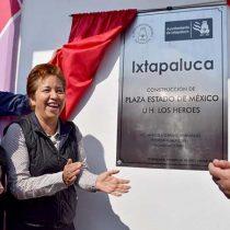 Entrega Maricela Serrano la primera obra de su gobierno; llama a la unidad