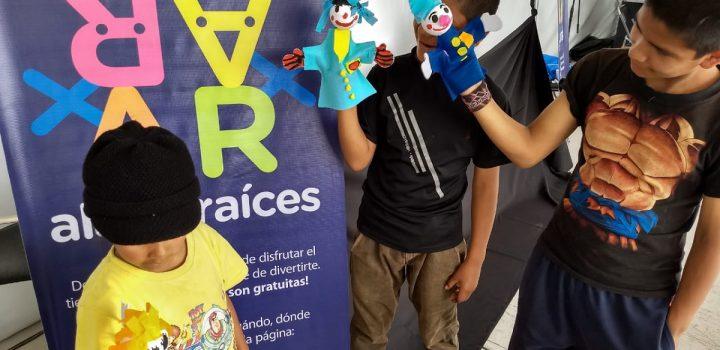 Ofrecen actividades artísticas de Alas y Raíces en el marco del Programa Cultura Comunitaria