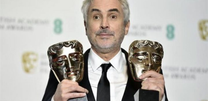 Cuarón gana BAFTA a Mejor Director por Roma