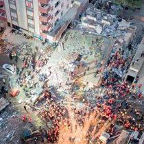 Se desploma edificio en Estambul, Turquía