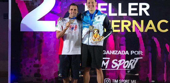 Acuática nelsonvargas, presente en Copa Heller y multiple medallista