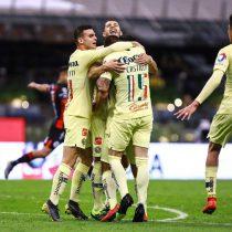 Con doblete de Castillo, América vence 3-0 a Lobos BUAP