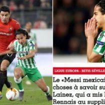 """Francia alucina con """"Messi mexicano"""" que dejó ir Lyon"""