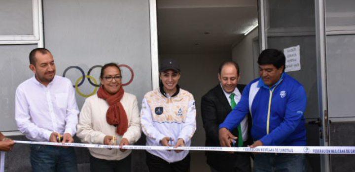 Inauguran Centro de Entrenamiento de Canotaje en Cuemanco