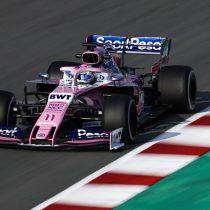Enriquecedora jornada para Checo Pérez en el test F1 en España