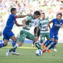 Cruz Azul ansía terminar con mala racha este sábado ante Santos Laguna