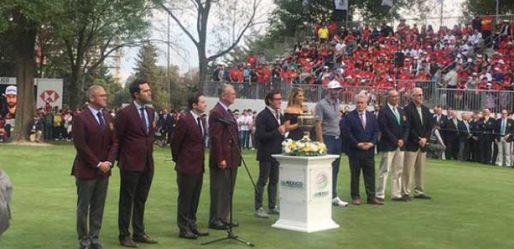 Se corona Dustin Johnson en México