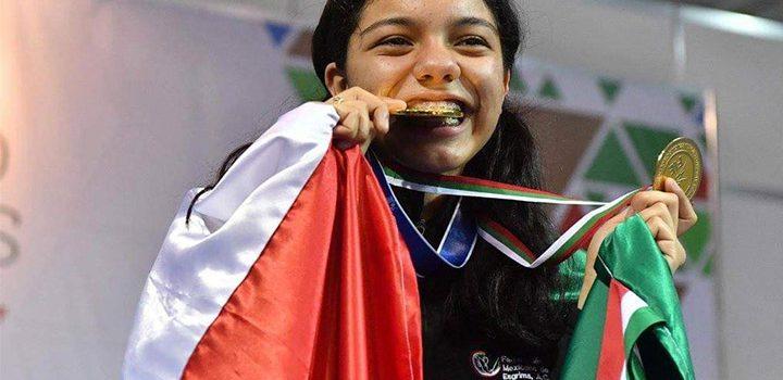 Natalia Botello logra su tercer oro en Panamericano de Esgrima