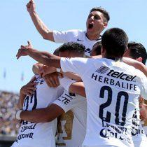 Pumas vence al América en regreso de Castillo
