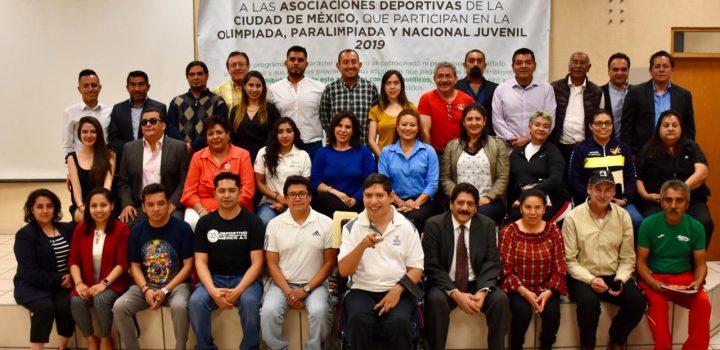 Primera reunión de trabajo entre el Indeporte y Asociaciones Deportivas de CDMX