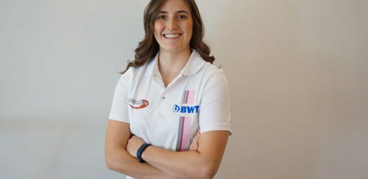 Tatiana Calderón completa alineación del BWT ARDEN en la F2