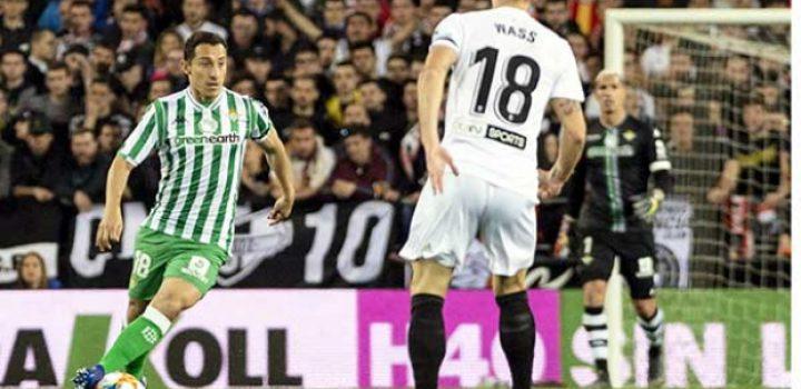 Termina Valencia con sueño del Betis