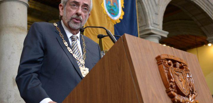 Liga Graue calidad de UNAM con autonomía