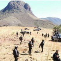 Hallan en Michoacán cuerpos de cinco policías