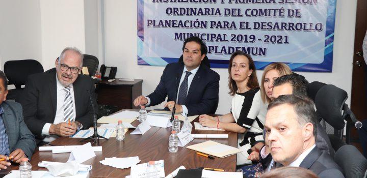 Quedó instalado el comité de planeación para desarrollo de Huixquilucan