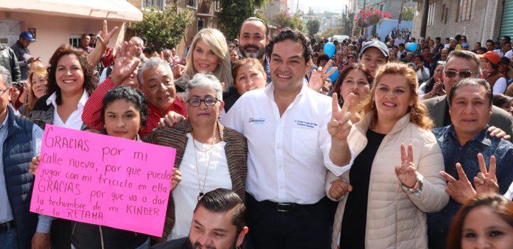 Gobierno de Huixquilucan continúa entregando obras en beneficio de miles de habitantes