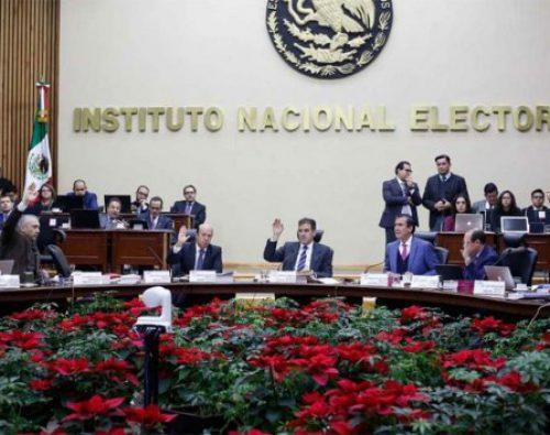INE sanciona a partidos con 327 mdp; da prórroga para cumplir