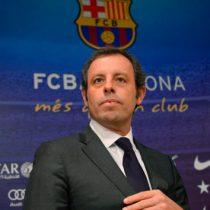 Ex presidente de Barcelona comparece en juicio