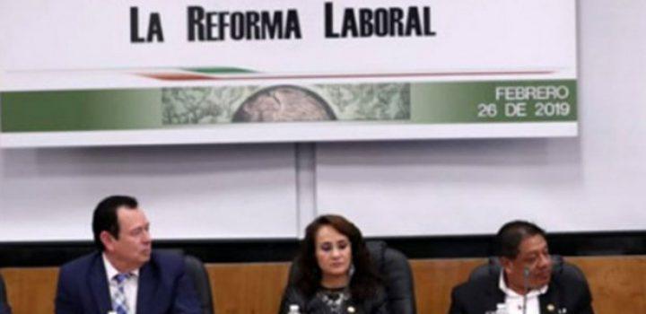 Respaldarán líderes sindicales reforma laboral