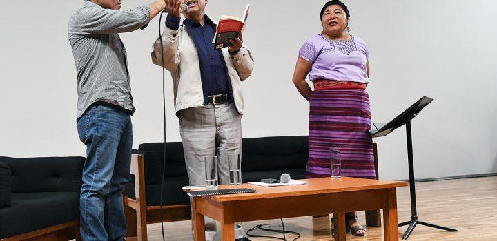 El Palacio de Bellas Artes albergó recital poético en lenguas indígenas