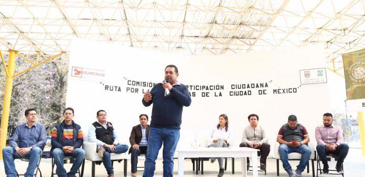 Nueva Ley de Participación Ciudadana estará guiada por lo que marca constitución de CDMX