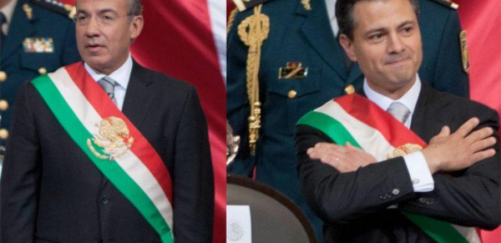 Inai ordena revelar datos sobre viajes de Calderón y Peña Nieto