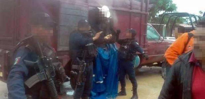 Rescatan a 39 migrantes en Las Choapas, Veracruz