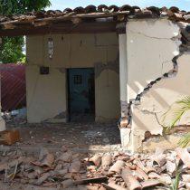 Daña sismo 62 inmuebles en Chiapas