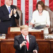 Trump presume economía de EU en discurso del Estado de la Unión