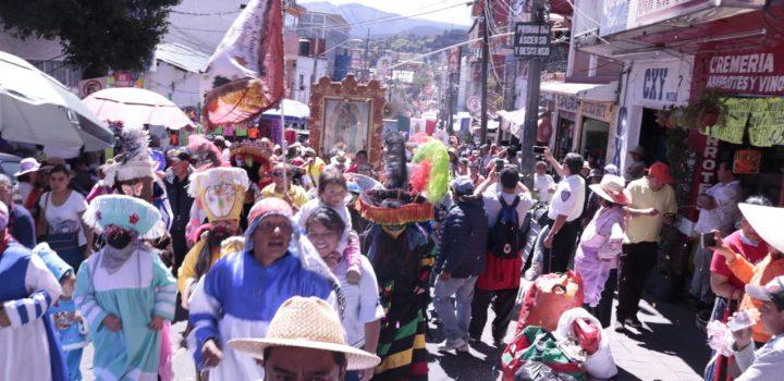 Cuajimalpa recibe a más de 60 mil peregrinos provenientes de la Diócesis de Toluca 2019