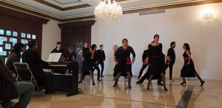 Ensamble Escénico Vocal compartió su música en el Complejo Cultural Los Pinos