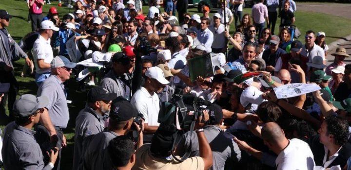 Causa revuelo Tiger Woods en México