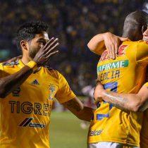 Tigres goleó a Saprissa y está en cuartos de final de la Concachampions