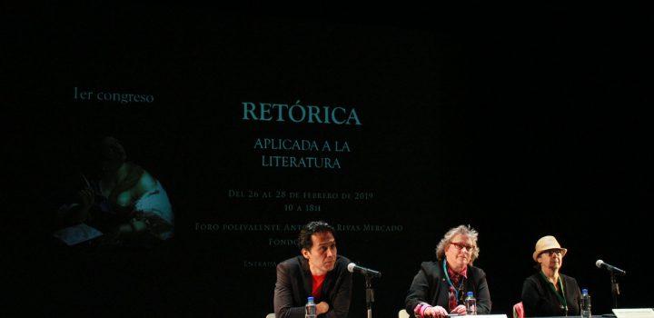 Inauguran Primer Congreso de Retórica Aplicada a la Literatura