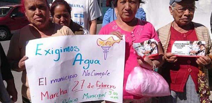 Debido a la indiferencia de Fernando Vilchis Contreras, Antorcha marcha hoy