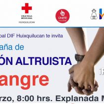 Realizará Huixquilucan donación de sangre