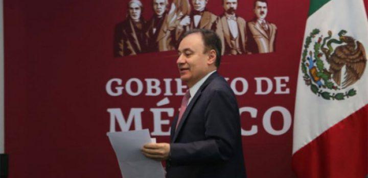 No hay mérito en reducción de crímenes: Alfonso Durazo