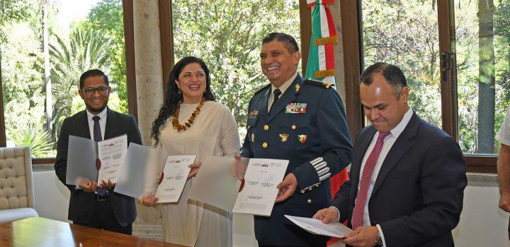 Hacen entrega formalmente de Los Pinos a la Secretaría de Cultura