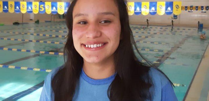 Deportista del equipo nelsonvargas de natación, ganó premio al Mérito Deportivo 2019