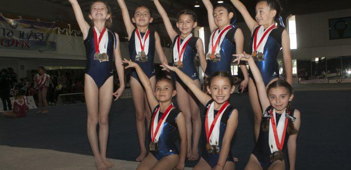 Exitosa participación del equipo nelsonvargas de gimnasia
