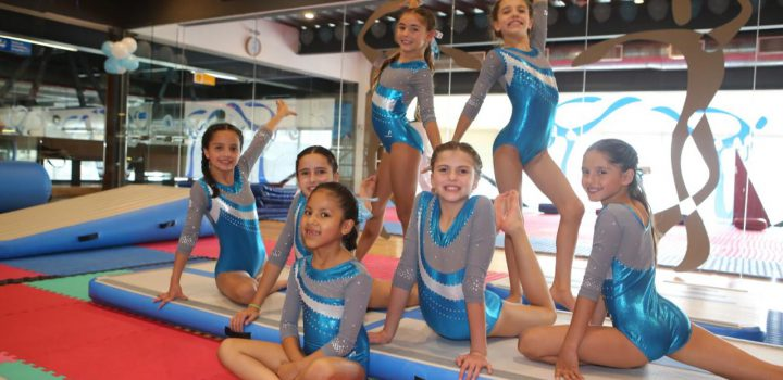 Equipo nelsonvargas de gimnasia, presente en Juegos CDMX