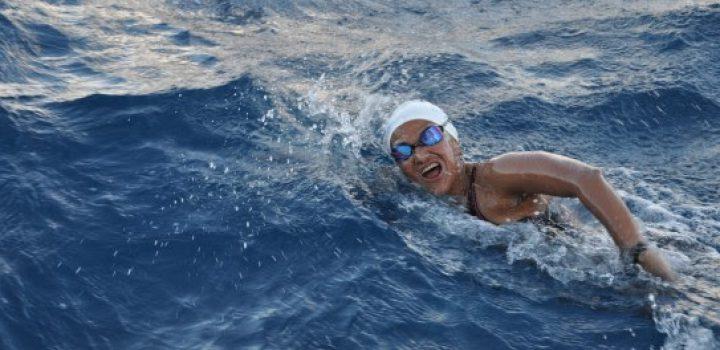 Nora Toledano, lista para cruzar Estrecho de Cook